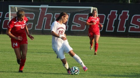 Jackie Bruno makes unexpected return in UMass win Thursday