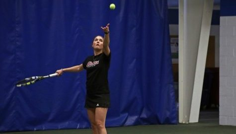 UMass tennis dominated by UConn in singles play in 5-2 loss