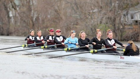 UMass rowing competes at historic Head of the Charles Regatta