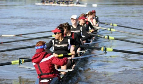 UMass rowing prepares for Head of the Oklahoma