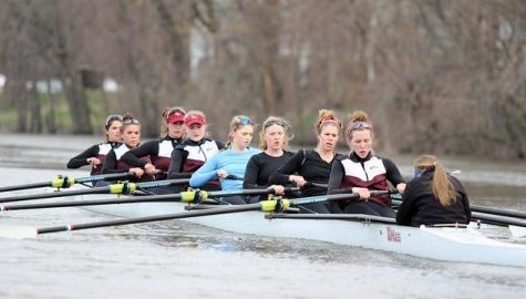 UMass rowing dominates at Head of the Oklahoma