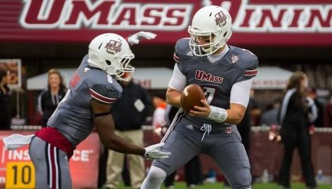 UMass football's offense held stagnant in 15-10 loss to Kent State on homecoming