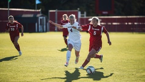 UMass women's soccer ends skid with blowout over Davidson Thursday