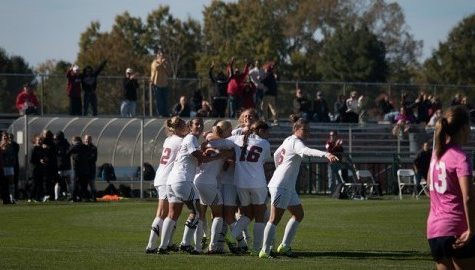 Last-second goal salvages game for UMass women's soccer
