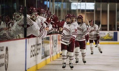 UMass looks to be more competitive in Hockey East behind youth