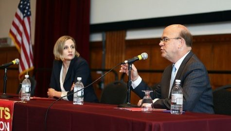 Jim McGovern speaks at forum on college debt and affordability