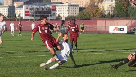 Mark Morris' hat trick leads UMass men's soccer to Wednesday victory