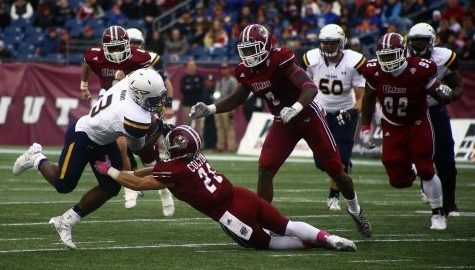 Second half meltdown derails UMass football in 51-35 loss to No. 19 Toledo