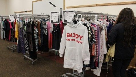 Costume sale combines sustainability with Halloween