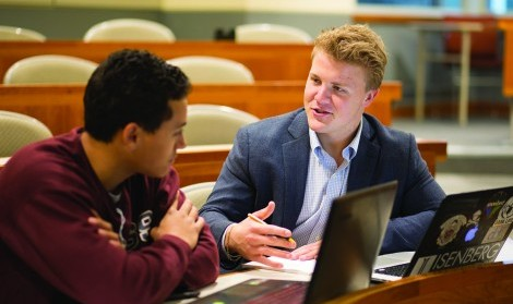 Student leader profile: Isenberg Undergraduate Consulting Group president Davies DeCesare-Fousek