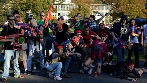 Humans vs. Zombies game impacted by banning of NERF blasters at UMass