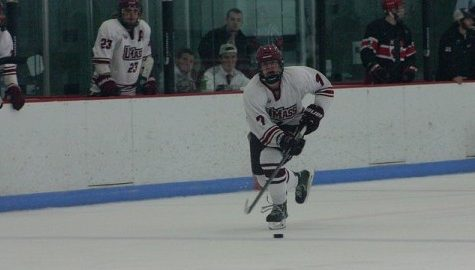 UMass club hockey loses overtime heartbreaker at home
