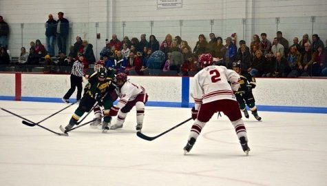 UMass club hockey splits weekend set against Keene State and Vermont