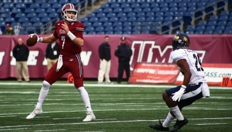 UMass football seeks second win of season against struggling Eastern Michigan defense