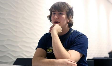 Student leader profile: Justin Kilian