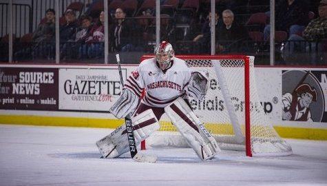 UMass hockey skates to a 1-1 tie with No. 13 Merrimack Saturday night