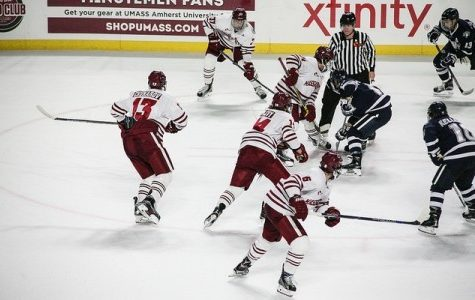 UMass hockey faces toughest test yet in No. 3 BC