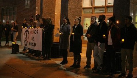 Muslim Students Association holds 'vigil for peace' to remember those slain in recent attacks