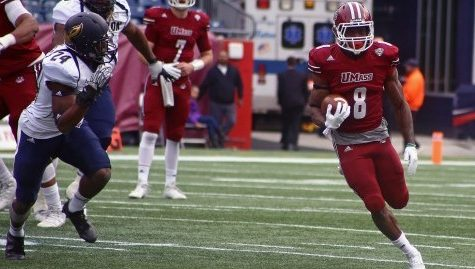 Rushing attack leads UMass football to second win of season against Eastern Michigan