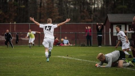 UMass men's soccer secures A-10 playoff seed with overtime win against Fordham