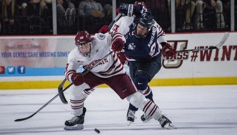 Shane Walsh scores third period goal for UMass hockey in 2-2 tie at UNH
