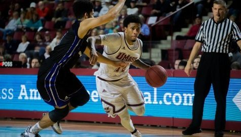 UMass men's basketball drops first game of season to Creighton in MGM Grand Main Event finals