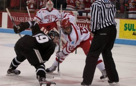 Hockey East notebook: BU, PC draw in title rematch, UML sweeps Maine