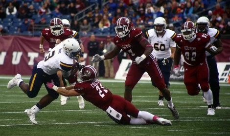 UMass seniors hope to bring back fond memories when they take on Akron this Saturday