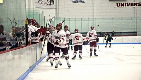 Anthony Lespasio's hat trick leads UMass club hockey to 5-2 victory over RPI