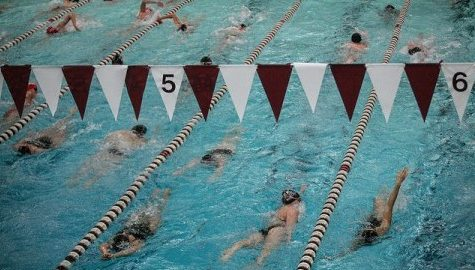 UMass swimming and diving looks to maintain condition in month-long midseason break