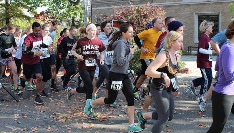 UMass students participate in annual Hot Chocolate Run