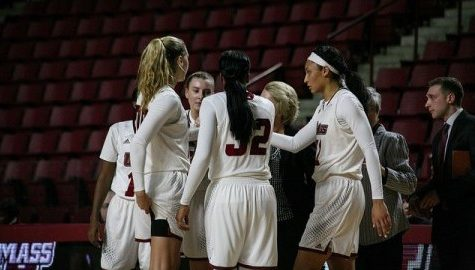 UMass women's basketball looks to carry defensive momentum from Bryant win into Wednesday's contest against Hofstra