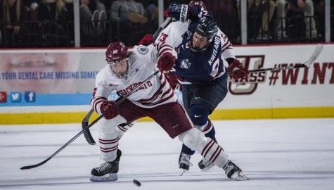 No luck for UMass hockey in 3-1 loss to No. 20 Notre Dame Friday night