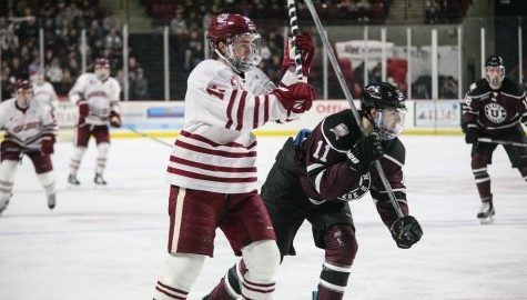 Another slow start dooms UMass hockey Friday night