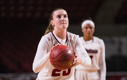 UMass women's basketball snaps four-game losing streak with win over Bryant