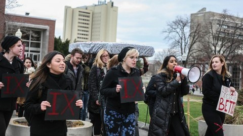 CERC rallies for Survivor's Bill of Rights Friday