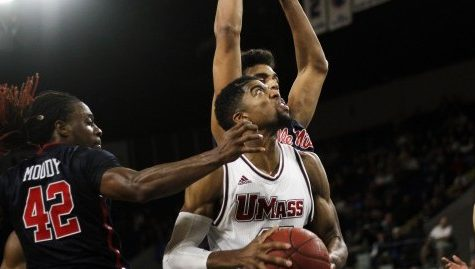 UMass' Zach Coleman, C.J. Anderson questionable for Tuesday's matchup with LIU