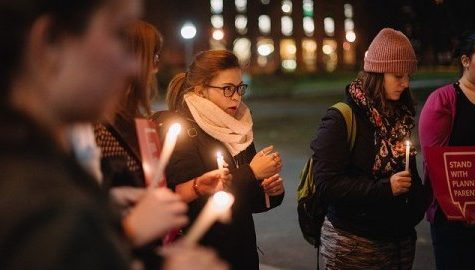VOX UMass holds vigil for victims of Colorado Springs Planned Parenthood shooting