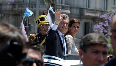 Around the world: Argentina swears in new president