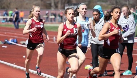 UMass women and men's track teams come out strong at Harvard