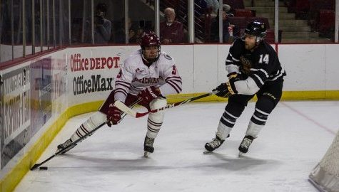 Callum Fryer becoming reliable defenseman for UMass hockey