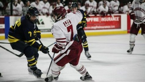 UMass hockey falls short in 3-2 overtime loss to No. 12 Yale Tuesday