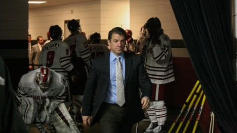 UMass coach John Micheletto frustrated with officiating in 6-4 loss to UVM