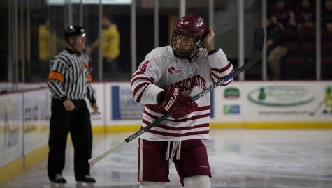 UMass hockey falls to BC 8-0 as Jerry York gets 1,000th career win