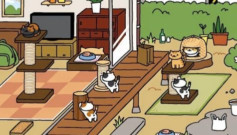 'Neko Atsume' app offers fun, feline diversion