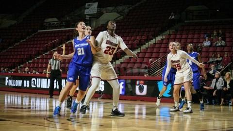 Timbilla helps UMass women's basketball past St. Bonaventure in her quest for 1,000 rebounds
