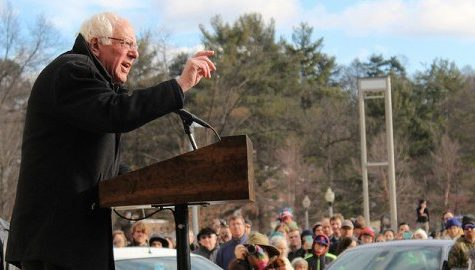 Bernie Sanders returning to UMass for Monday rally at Mullins Center