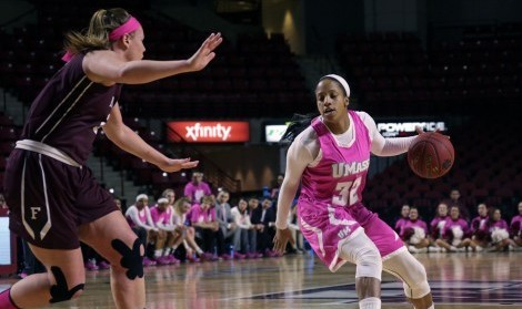 UMass women's basketball falls short against Fordham Saturday afternoon