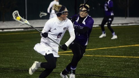 UMass women's lacrosse opens season with 16-5 win over Holy Cross