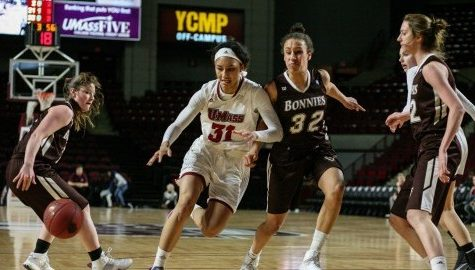 Upset in Amherst: UMass women's basketball tops heavily favored St. Bonaventure Saturday at Mullins Center